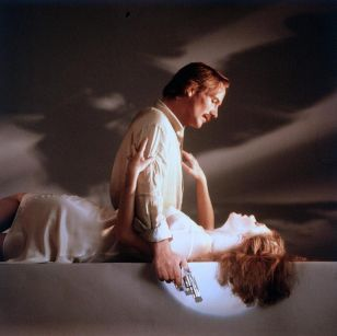 William Hurt and Kathleen Turner in BodyHeat (1981)