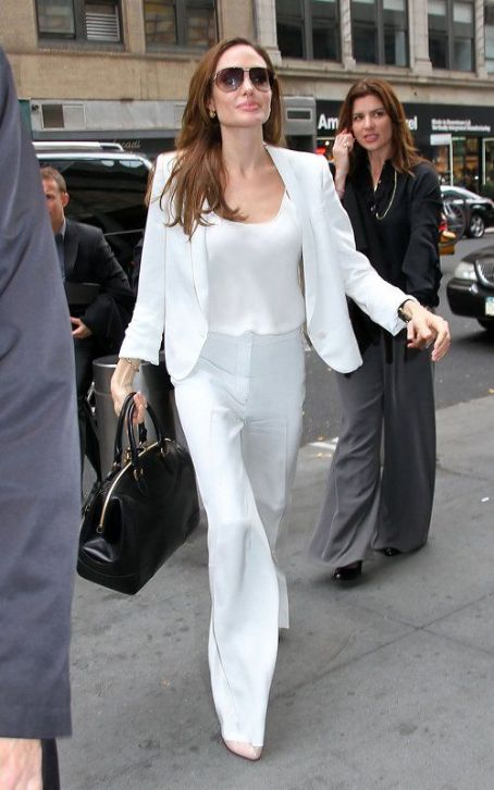 Angelina Jolie: Out and about in New York City