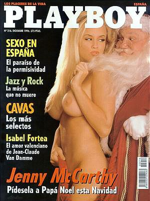 Jenny McCarthy - Playboy Magazine Cover [Spain] (December 1996)