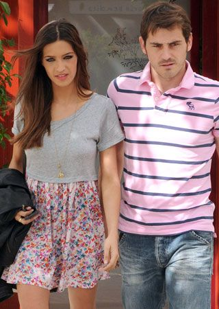 Iker Casillas and Sara Carbonero - sara carbonero and iker casillas