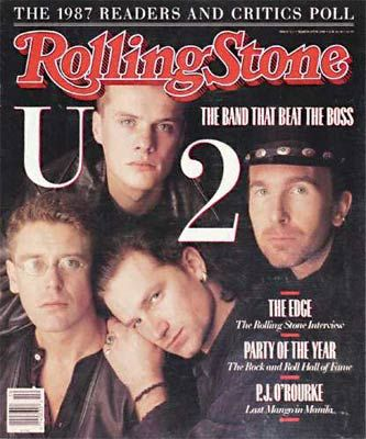 Larry Mullen - Rolling Stone Magazine [United States] (10 March 1988)