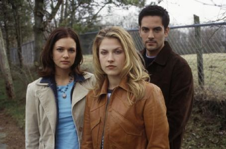A.J. Cook, Ali Larter and Michael Landes in New Line's Final Destination 2 - 2003