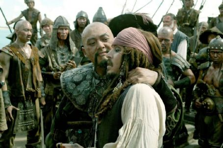 Jack Sparrow Captains Sao Feng and