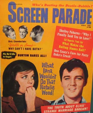 Elvis Presley - Screen Parade Magazine [United States] (December 1964)