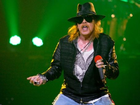 W. Axl Rose - Axl Rose of Guns N' Roses performs at The Joint inside the Hard Rock Hotel & Casino December 30, 2011 in Las Vegas, Nevada