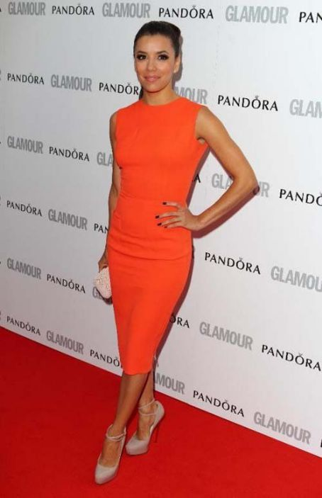 Eva Longoria: the GLAMOUR Women of the Year Awards held at Berkeley Square Gardens in London