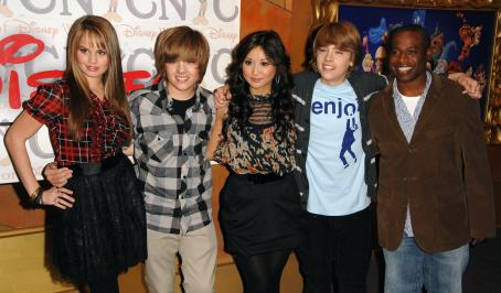 The Suite Life on Deck - Debby Ryan - 'The Suite Life On Deck' Cast Appears At World Of Disney In NYC, 2009-03-06