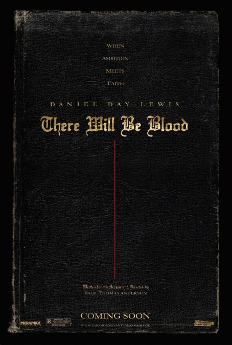 There Will Be Blood Teaser Poster
