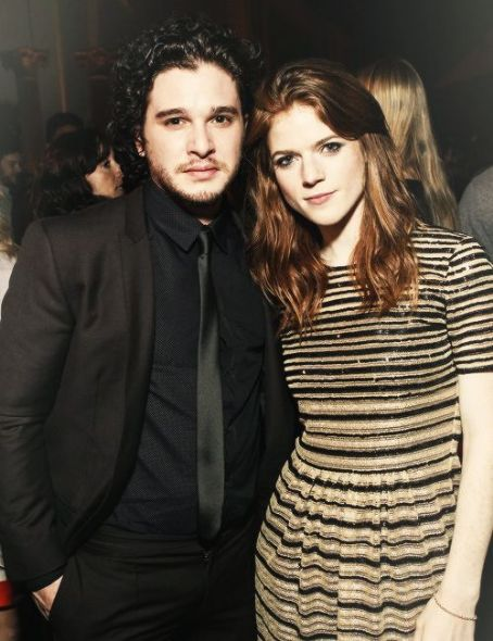 Rose Leslie Kit Harington and  at the San Francisco 'Game of Thrones' premiere (March 20, 2013)