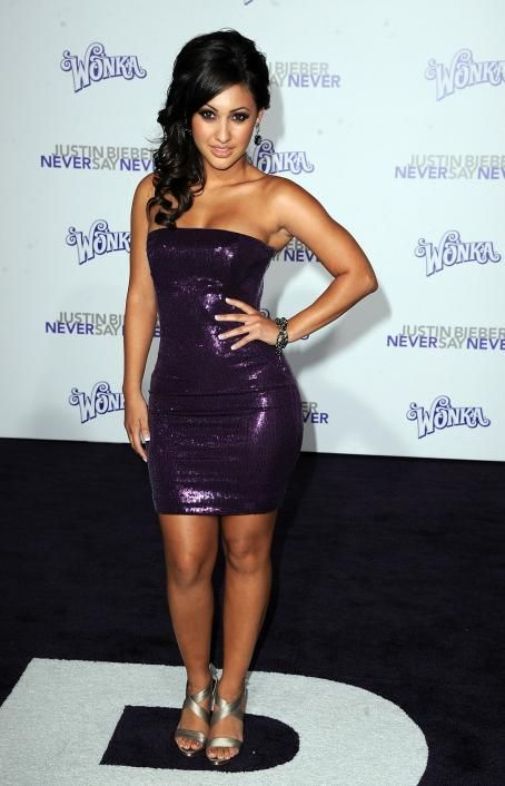 Francia Raisa - 'Justin Bieber: Never Say Never' Los Angeles Premiere at Nokia Theatre L.A. Live on February 8, 2011