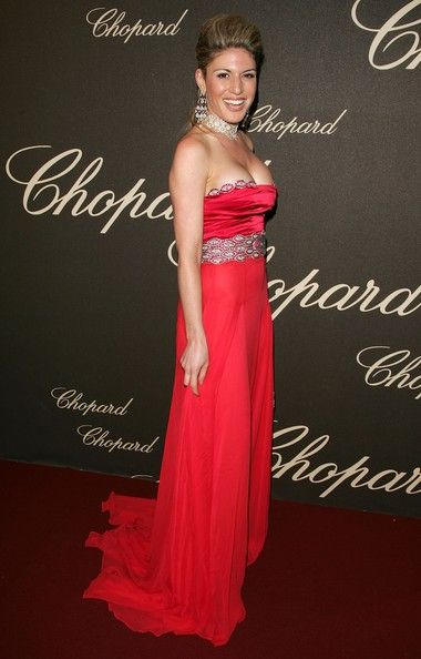 Hofit Golan - Cannes - The Chopard Trophy