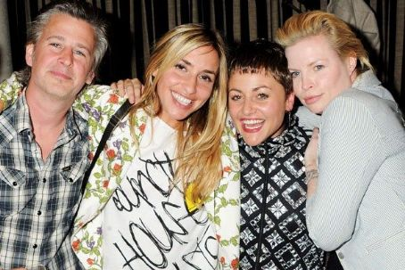 Flora Evans Jason Starkey and  with Jaime Winstone