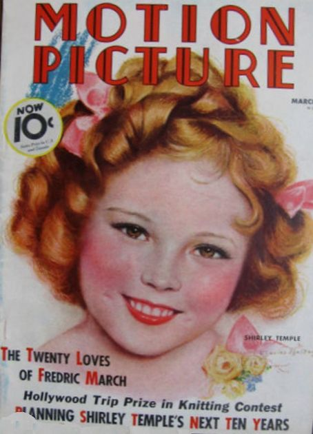 Shirley Temple - Motion Picture Magazine [United States] (March 1936)