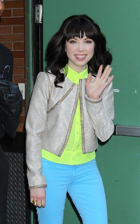 "Carly Rae Jepsen  Says ""Good Morning America"""
