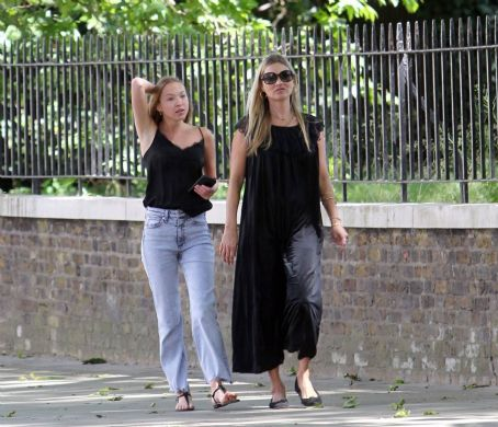 Kate and Lila Grace Moss – Out in London