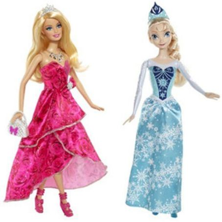 Sorry, Barbie! Frozen Dolls Are Probably Going to Outsell You This Christmas