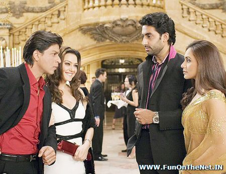 Shahrukh Khan and Rani Mukherjee - KANK
