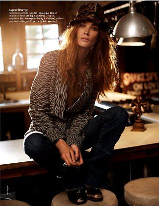 Erin Wasson - Elle Magazine Pictorial [France] (24 June 2011)