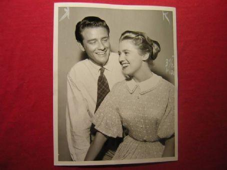 Kathy Nolan Kathy With Richard Crenna on The Real McCoys 1957