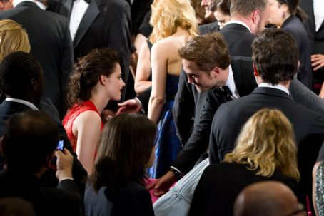 Kristen Stewart - Inside the Cosmopolis Premiere: Standing Ovation for Robert Pattinson