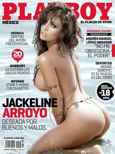 Jackeline Arroyo - Playboy Magazine Cover [Mexico] (March 2012)