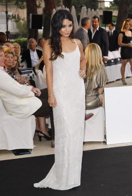 Vanessa Hudgens hosted  the Amber Fashion Show and Charity Auction at Le Meridien Beach Plaza Hotel on May 25, 2012 in Monaco, Monaco