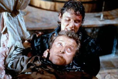 Flesh+Blood Rutger Hauer and Tom Burlinson in Flesh + Blood (1985)