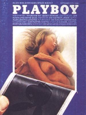 Unknown - Playboy Magazine Cover [Germany] (September 1972)