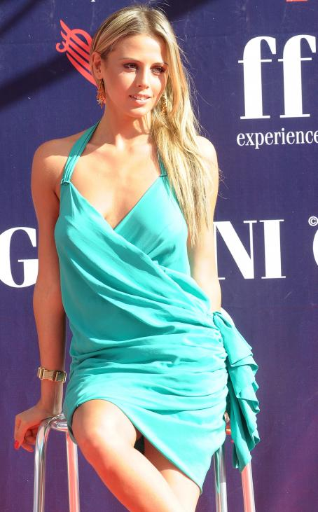Benedetta Valanzano  - Photocall During The First Day Of The 2009 Giffoni Film Festival [Day1] On July 12, 2009 In Salerno, Italy