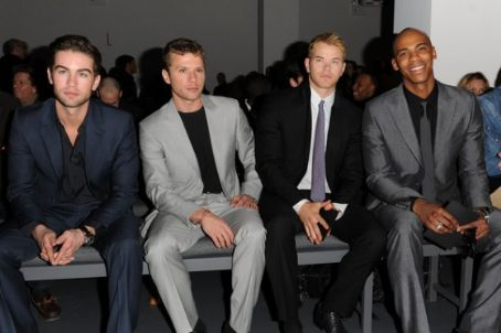 Mehcad Brooks The Calvin Klein Menswear Fashion Show