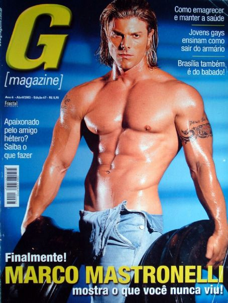 Marco Mastronelli - G Magazine Cover [Brazil] (April 2003)