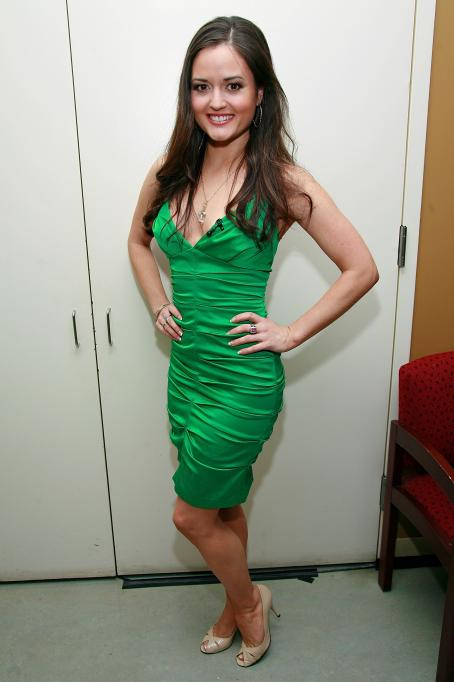 "Danica McKellar Visits FOX's ""The Morning Show With Mike And Juliet"" At FOX Studios On January 13, 2009 In New York City."