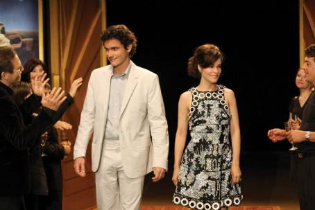 Christian Camargo  ('Jackson,' left) and Parker Posey ('Jayne,' right) star in Lionsgate Home Entertainment's Happy Tears.