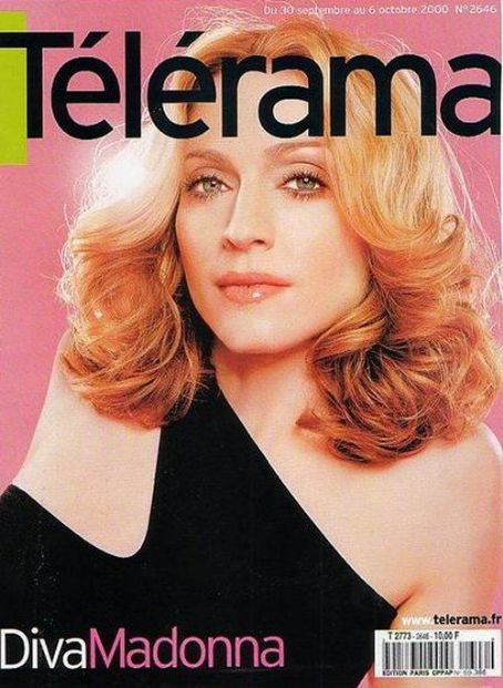 Madonna - Télérama Magazine Cover [France] (October 2000)