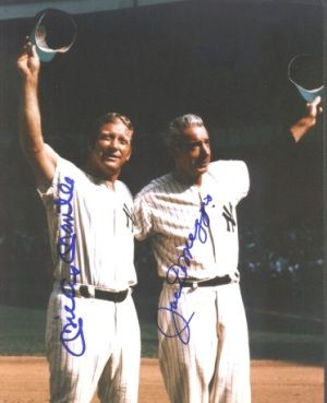 Mickey Mantle Mickey & Joe Dimaggio