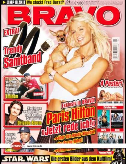 Paris Hilton - Bravo Magazine [Germany] (18 May 2005)