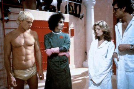 The Rocky Horror Picture Show Tim Curry, Susan Sarandon, Barry Bostwick and Peter Hinwood in The Rocky Horror Picture (1975)