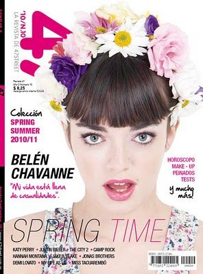 Belén Chavanne - 47 Street Magazine Cover [Argentina] (April 2010)