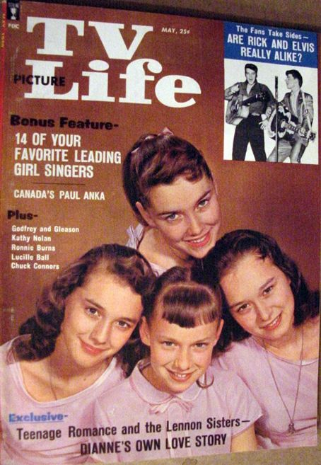 Dianne Lennon - TV Picture Life Magazine [United States] (May 1959)