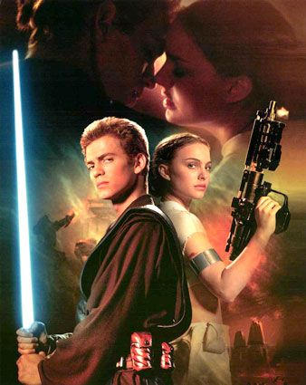 Star Wars: Episode II - Attack of the Clones Natalie Portman and Hayden Christensen