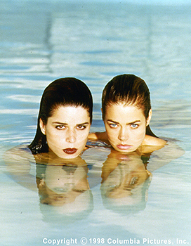 Wild Things Neve Campbell and Denise Richards in