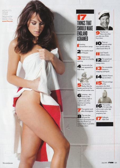Rosie Jones  - FHM - July 2010 (Scans)