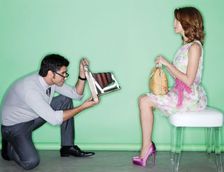 John Stamos and Jayma Mays Play Dress-Up!!