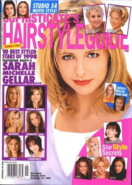 Sarah Prinze - Sophisticate's Hairstyle Guide Magazine [United States] (November 1998)