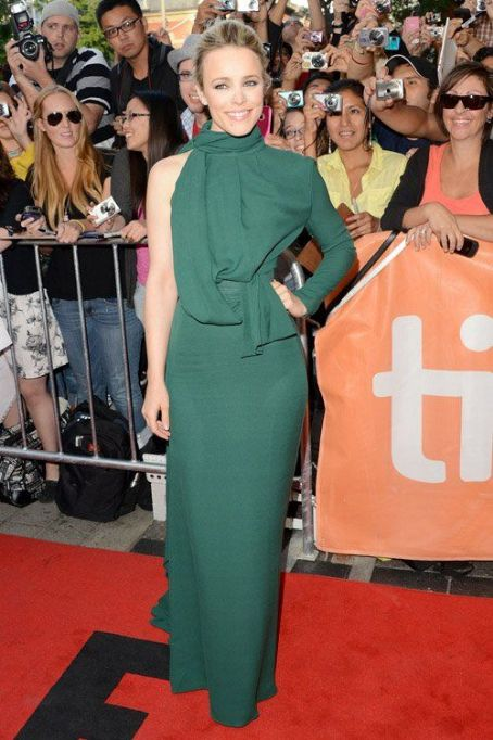 "Rachel McAdams: attended the ""To the Wonder"" premiere at the 2012 Toronto International Film Festival at the Princess of Wales Theatre"