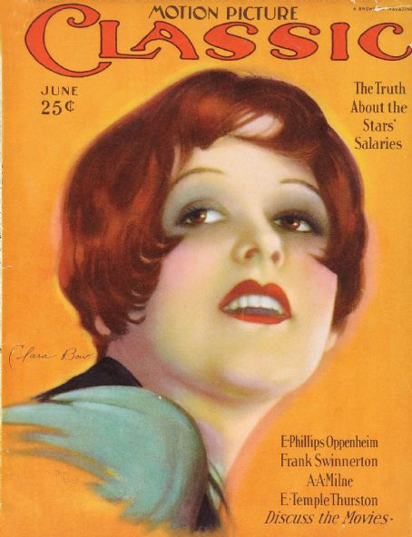 Clara Bow - Motion Picture Classic Magazine [United States] (June 1926)