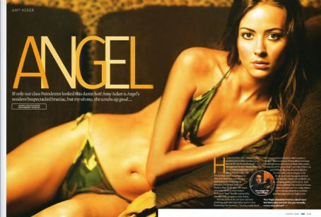 Amy Acker  FHM Magazine Pictorial August 2003