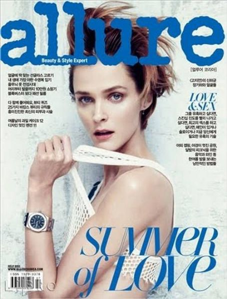 Carmen Kass - Allure Magazine Cover [Korea, South] (July 2011)