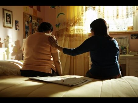 Nisreen Faour  and Hiam Abbass as sisters Muna and Raghda in  AMREEKA from National Geographic Entertainment.