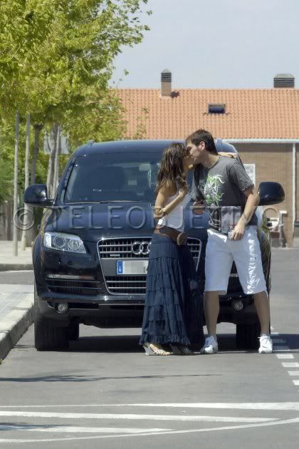 Iker Casillas and Eva Gonzalez